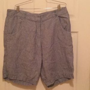 Lovely 100% linen shorts made by Poetry
